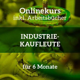 Industriekaufleute | Onlinekurs zur Vorbereitung auf die schriftliche IHK-Abschlussprüfung | inkl. Arbeitsbücher