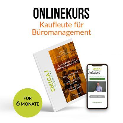 Kaufleute für Büromanagement | Onlinekurs zur Vorbereitung auf die schriftliche IHK-Abschlussprüfung | inkl. Arbeitsbücher